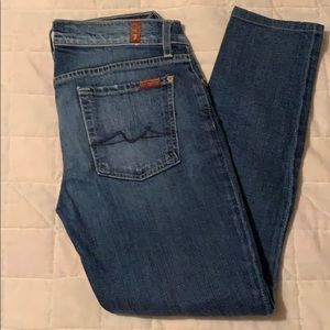 7FAM Skinny Jeans